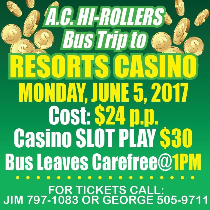 Hcc Ac Hi Rollers Trip Resorts Casino