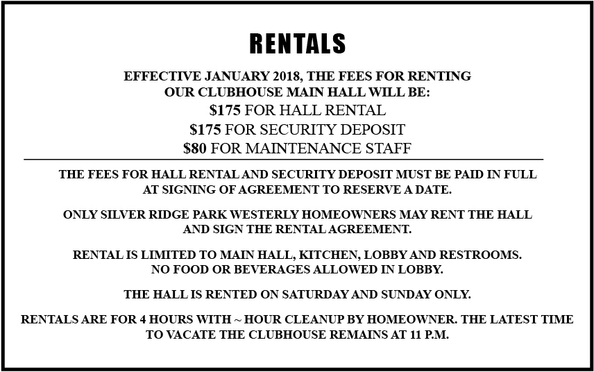 Rentals December 2017